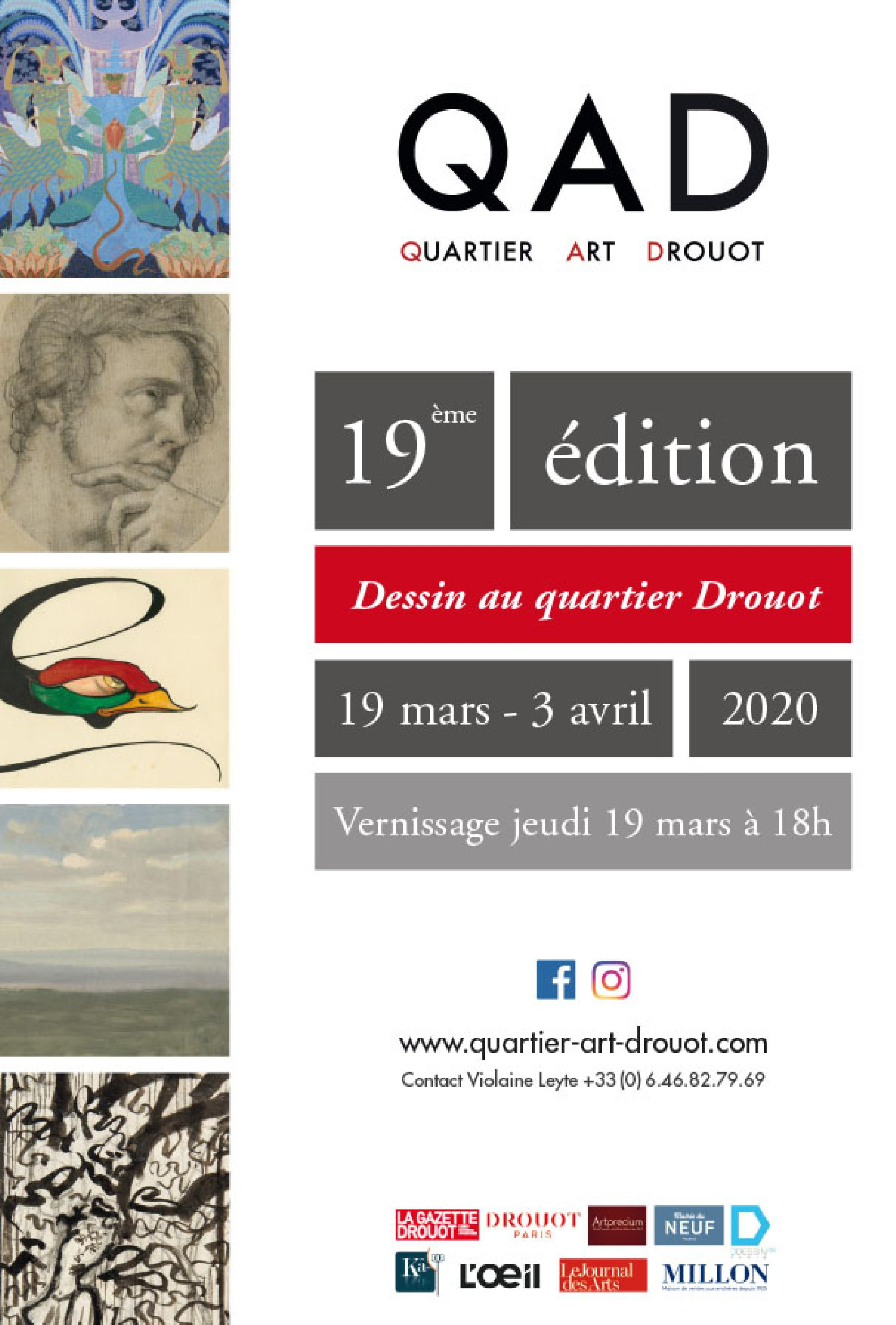 Drawing Week at Quartier Drouot